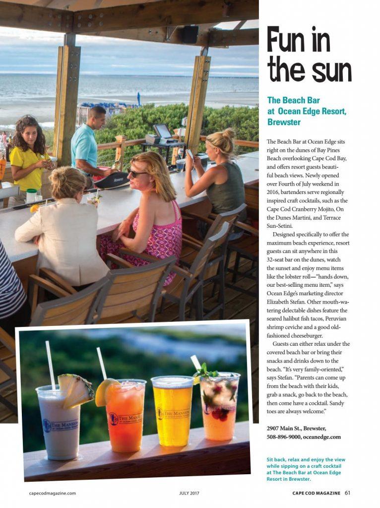 Cape Cod Magazine S Best Beach Bars